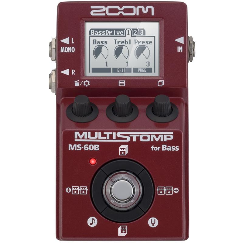 ZOOM MULTI STOMP MS-60B [for Bass] 【送料無料】 【ikbp5】