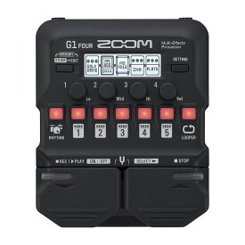 ZOOM G1 FOUR [Multi-Effects Processor] 【送料無料】 【6月下旬入荷分】