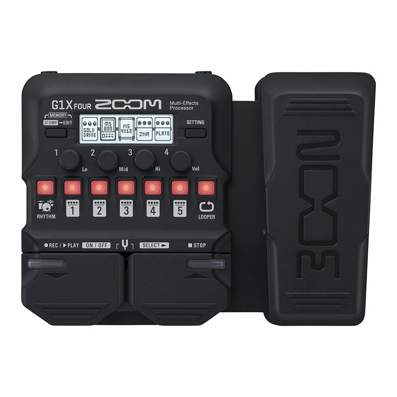 ZOOM G1X FOUR [Multi-Effects Processor] 【送料無料】 【5月下旬入荷予定】