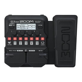 ZOOM G1X FOUR [Multi-Effects Processor] 【送料無料】 【6月下旬入荷予定】