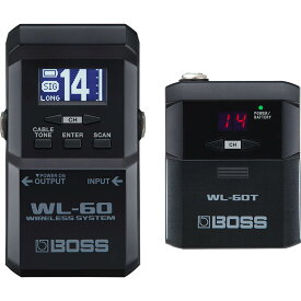 BOSS WL-60 [Guitar Wireless System]【送料無料】 【ikbp5】