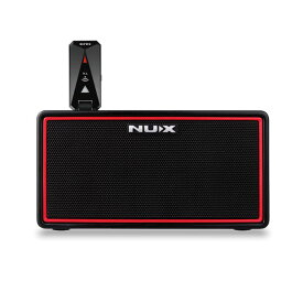 NUX Mighty Air [Wireless Stereo Modeling Amplifier] 【ワイヤレス機能と充電バッテリーを搭載したミニアンプ】