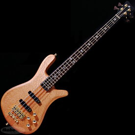 """Warwick Custom Shop Streamer Stage II 4st """"Hand-Selected Lacewood Top/Natural Oil Finish"""" (#A162797-18) 【Factory Order Model 豪華特典!】"""