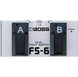 BOSS FS-6 Dual Footswitch 【ikbp5】