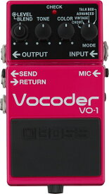 BOSS VO-1 [Vocoder] 【期間限定★送料無料】【ikbp5】 【IKEBE×BOSSオリジナルデザインアルミスポーツボトルプレゼント】