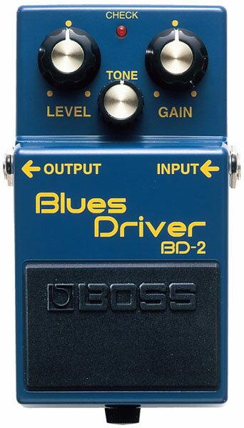 """BOSS BD-2 [Blues Driver] 【HxIv25_04】 【期間限定★送料無料】 【ポイント5倍】 【IKEBE×BOSSオリジナルデザインピックケースプレゼント】 【数量限定""""BOSS BD-2デザインオリジナルピンバッジ""""プレゼント!】"""