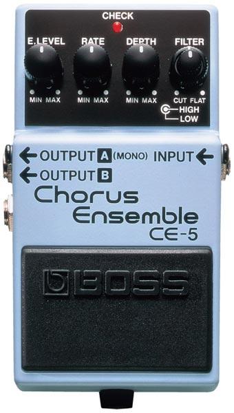 """BOSS CE-5 [Chorus Ensemble] 【期間限定★送料無料】 【ポイント5倍】 【IKEBE×BOSSオリジナルデザインピックケースプレゼント】 【数量限定""""BOSS BD-2デザインオリジナルピンバッジ""""プレゼント!】"""