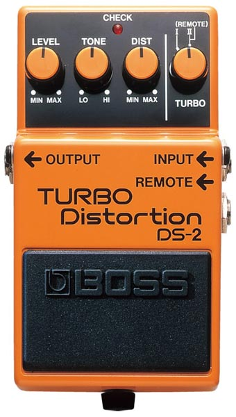 """BOSS DS-2 [TURBO Distortion] 【HxIv04_04】 【期間限定★送料無料】 【ポイント5倍】 【IKEBE×BOSSオリジナルデザインピックケースプレゼント】 【数量限定""""BOSS BD-2デザインオリジナルピンバッジ""""プレゼント!】"""