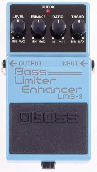 """BOSS LMB-3 [Bass Limiter Enhancer] 【期間限定★送料無料】 【ポイント5倍】 【IKEBE×BOSSオリジナルデザインピックケースプレゼント】 【数量限定""""BOSS BD-2デザインオリジナルピンバッジ""""プレゼント!】"""