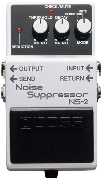 """BOSS NS-2 [Noise Suppressor] 【期間限定★送料無料】 【ポイント5倍】 【IKEBE×BOSSオリジナルデザインピックケースプレゼント】 【数量限定""""BOSS BD-2デザインオリジナルピンバッジ""""プレゼント!】"""
