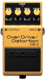 BOSS OS-2 [OverDrive/Distortion] 【HxIv25_04】 【期間限定★送料無料】 【ikbp5】