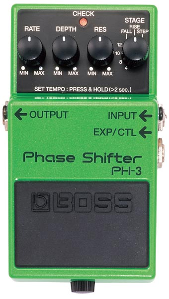 "BOSS PH-3 [Phase Shifter] 【期間限定★送料無料】 【ポイント5倍】 【IKEBE×BOSSオリジナルデザインピックケースプレゼント】 【数量限定""BOSS BD-2デザインオリジナルピンバッジ""プレゼント!】"