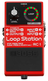 BOSS RC-1 [Loop Station] 【期間限定★送料無料】 【ikbp5】 【IKEBE×BOSSオリジナルデザイン缶クージープレゼント】