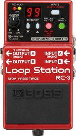BOSS RC-3 [Loop Station] 【期間限定★送料無料】 【ikbp5】 【IKEBE×BOSSオリジナルデザインピックケースプレゼント】
