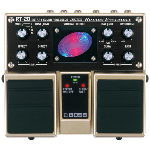 "BOSS RT-20 [Rotary Sound Processor] 【期間限定★送料無料】 【ポイント5倍】 【数量限定""BOSS BD-2デザインオリジナルピンバッジ""プレゼント!】"