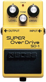 BOSS SD-1 [SUPER OverDrive] 【期間限定★送料無料】 【HxIv22_04】 【ikbp5】