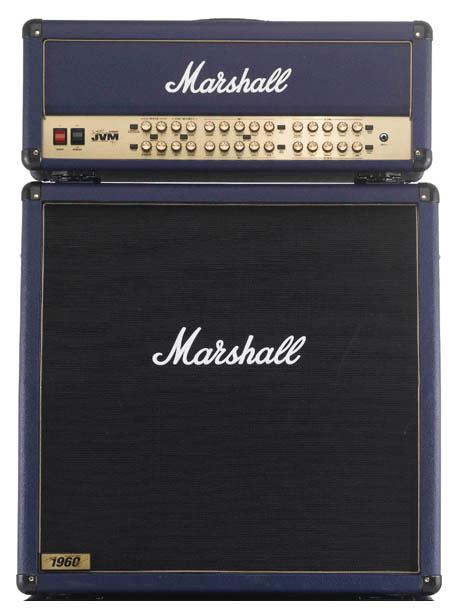 Marshall JVM410HJSB & 1960AJSB ハーフスタックセット 【B級特価】