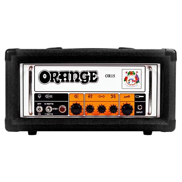Orange OR15 Head [BLACK]