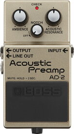 BOSS AD-2 Acoustic Preamp 【期間限定★送料無料】 【新製品AMP/FX】 【ikbp5】