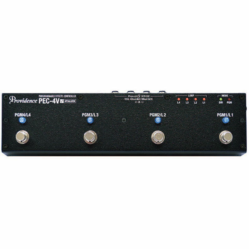 Providence PEC-4V [PROGRAMMABLE EFFECTS CONTROLLER] 【新製品AMP/FX】