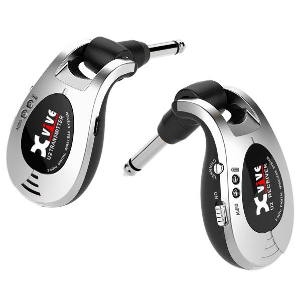 Xvive XV-U2 Digital Wireless (Silver) [ワイヤレスシステム] 【送料無料】