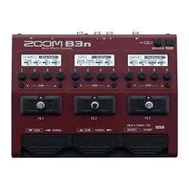 ZOOM B3n [Multi-Effects Processor] 【送料無料】 【ikbp5】