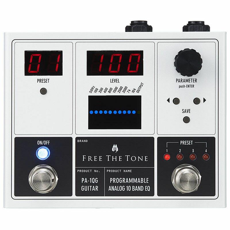 Free The Tone PA-1QG [PROGRAMMABLE ANALOG 10 BAND EQ]