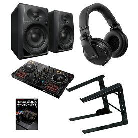 ●Pioneer DJ DDJ-400 + DM-40 [rekordbox DJで始めるデジタルDJ初心者セット]