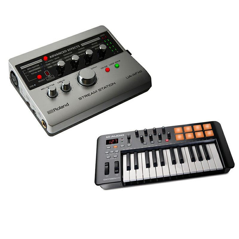 ●IKEBE ORIGINAL UA-4FX2 音楽制作&配信セット