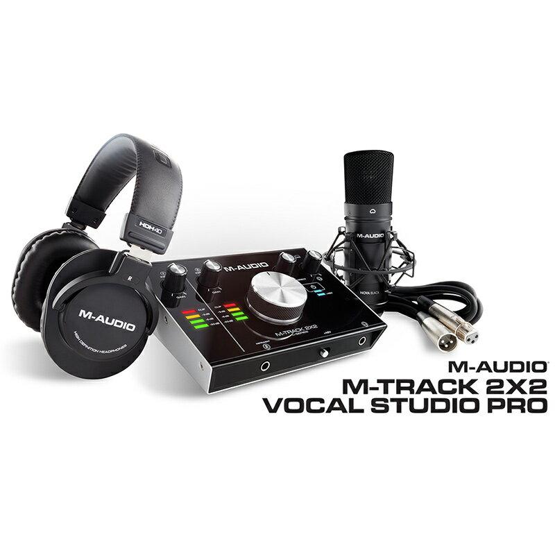 ●M-Audio M-Track 2X2 Vocal Studio Pro 【限定タイムセール】