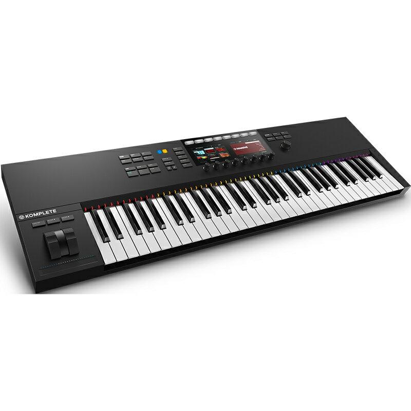 ●Native Instruments KOMPLETE KONTROL S61 MK2 【発売記念ラウドネスマキシマイザープラグインDeeMaxxをプレゼント!】