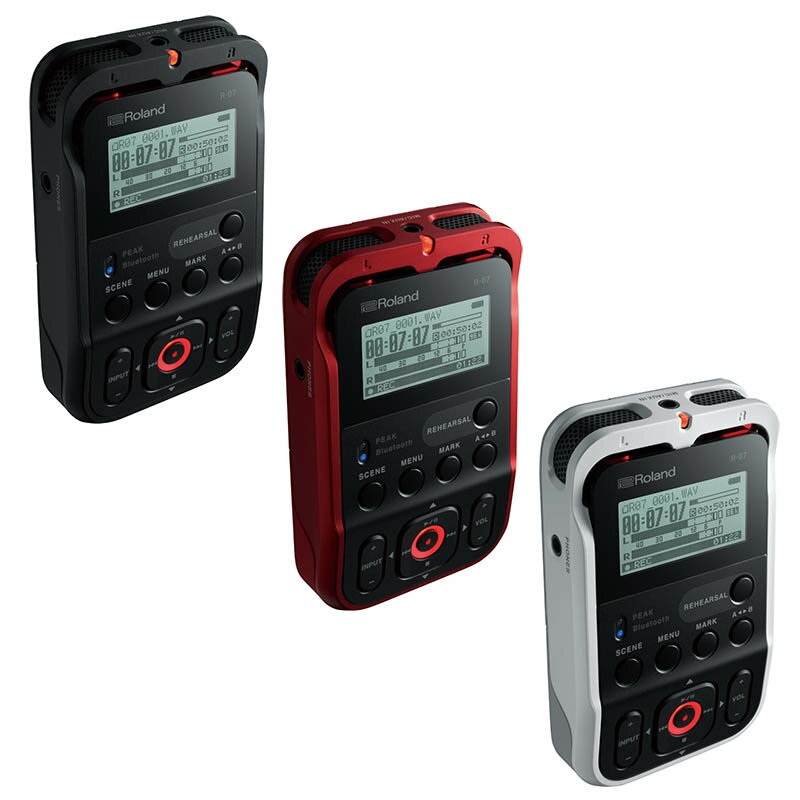 ●ROLAND R-07 [High Resolution Audio Recorder]