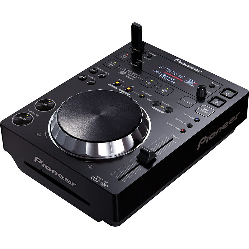 ●Pioneer DJ CDJ-350 【台数限定!16GBUSBメモリー×1本プレゼント】