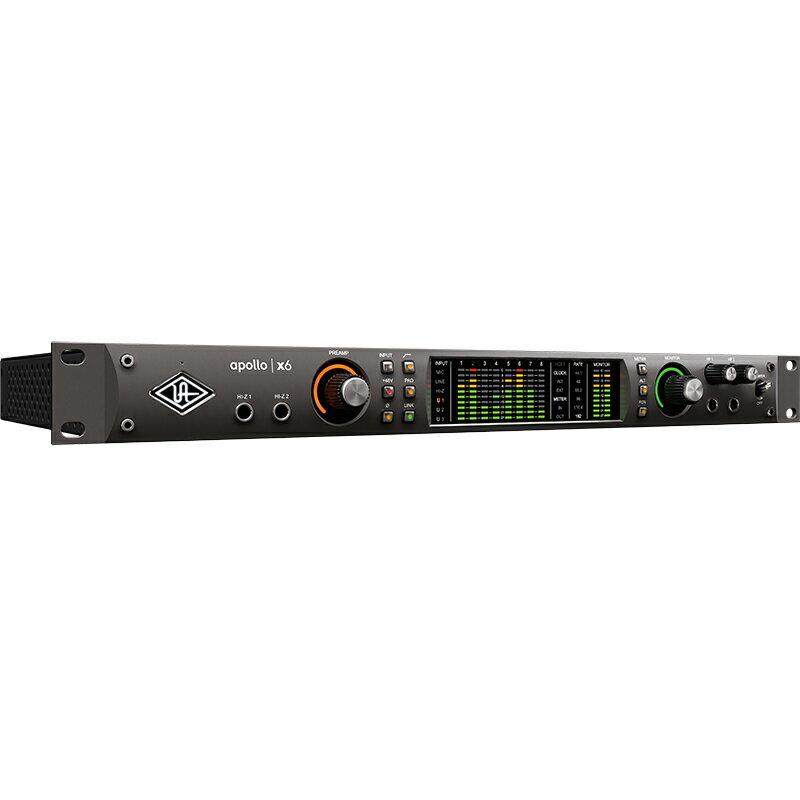 ●Universal Audio Apollo x6 【発売記念SHURE SE215-K-BTプレゼント!】