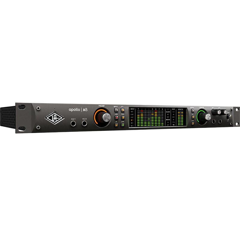 ●Universal Audio Apollo x8 【発売記念SHURE SE215-K-BTプレゼント!】 【Apollo X Double Down Promotion対象】