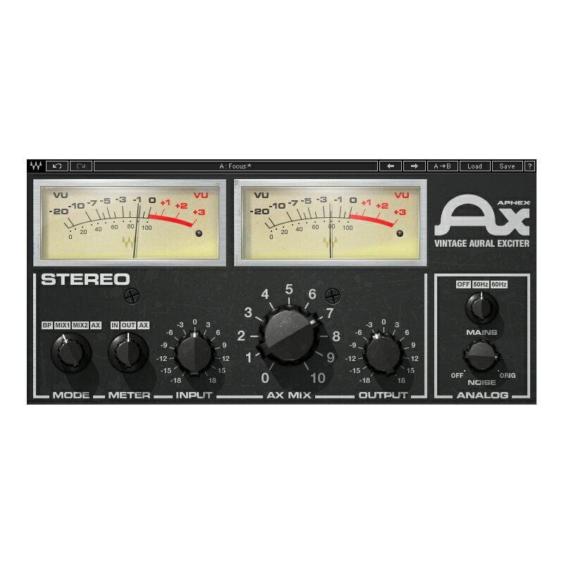 ●WAVES Aphex Vintage Aural Exciter 【D2Rオンライン納品専用ソフトウェア】 ※代金引換不可
