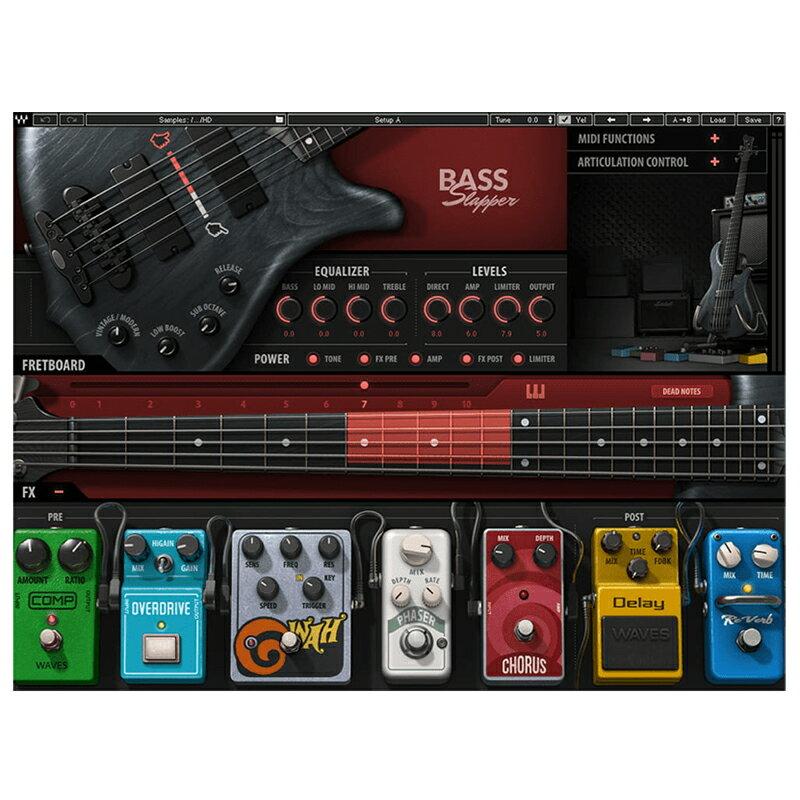 ●WAVES Bass Slapper 【D2Rオンライン納品専用ソフトウェア】 ※代金引換不可