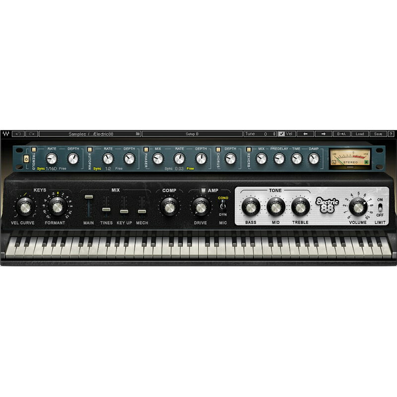 ●WAVES Electric 88 Piano 【D2Rオンライン納品専用ソフトウェア】 ※代金引換不可
