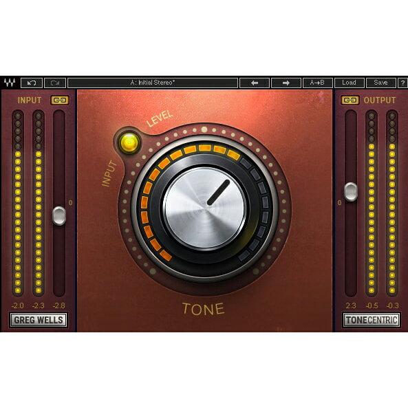 ●WAVES Greg Wells ToneCentric 【D2Rオンライン納品専用ソフトウェア】 ※代金引換不可