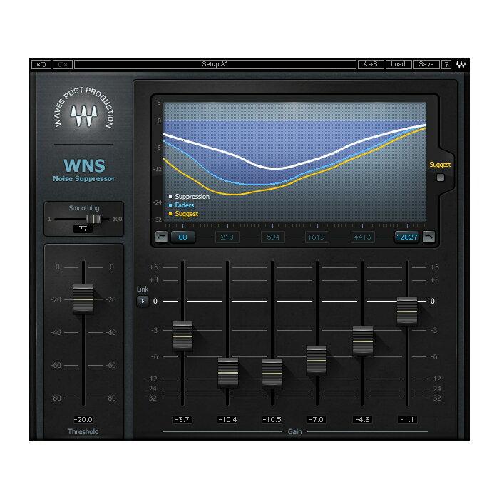 ●WAVES WNS Noise Suppressor 【D2Rオンライン納品専用ソフトウェア】 ※代金引換不可