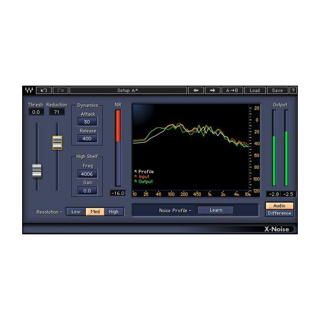 ●WAVES X-Noise 【D2Rオンライン納品専用ソフトウェア】 ※代金引換不可