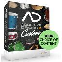 ●xlnaudio Addictive Drums 2 Custom 【数量限定価格】※シリアル番号シートのみの納品になります。