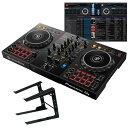 ●Pioneer DJ DDJ-400 + PCスタンドセット