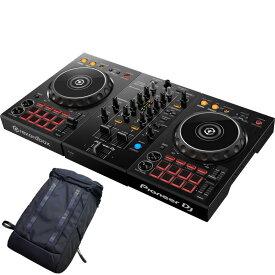 Pioneer DJ DDJ-400 [rekordbox DJライセンスキー付き] + DDJ-400用BACKPACK 【高音質ヘッドフォンプレゼント!】