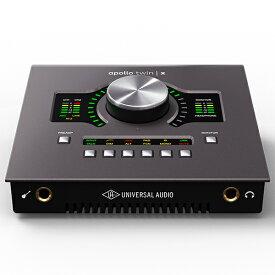 Universal Audio Apollo Twin X Quad Heritage Edition【期間限定 Desktop Platinum Vocalプロモーション開催中】