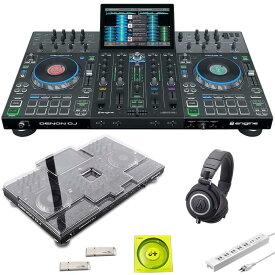 ●DENON Prime 4 + ATH-M50x 高音質ヘッドホン SET【今なら本体保護カバー&USBメモリ&高品質USBケーブル&電源タッププレゼント!】