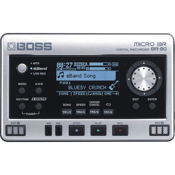●BOSS MICRO BR BR-80 Digital Recorder