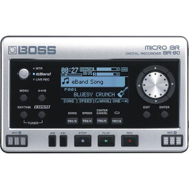 ●BOSS MICRO BR BR-80 Digital Recorder 【数量限定ACアダプター付き!】