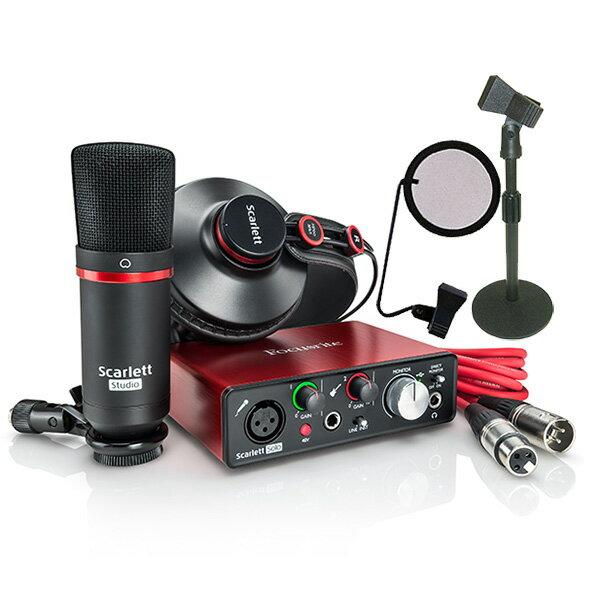 ●Focusrite Scarlett Solo Studio G2 DeskTop Recording Set