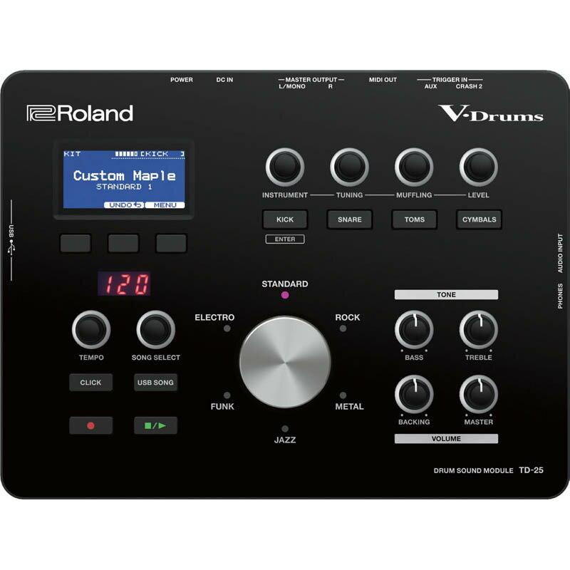 ROLAND TD-25 【新製品その他】 【ドラムステーション・オリジナル USBメモリー for TD-25 プレゼント!】